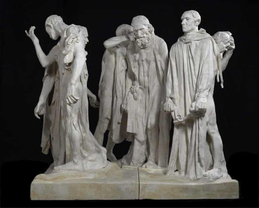The Burghers of Calais, 1889.