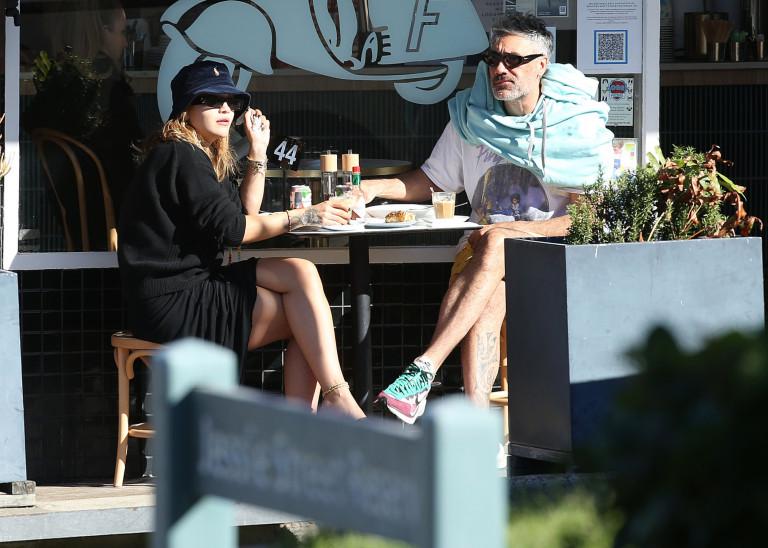Rita Ora and Taika Waititi