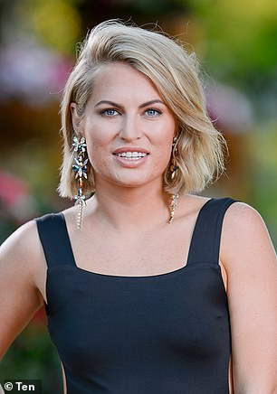 Transformation: Keira has spent more than $35,000 transforming her appearance over the years. Pictured on The Bachelor back in 2016 (pictured)