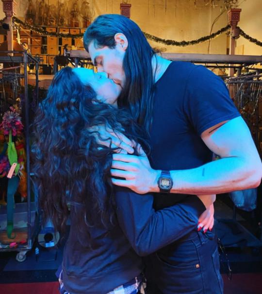 WandaVision's Kat Dennings confirms romance with rocker Andrew W.K.