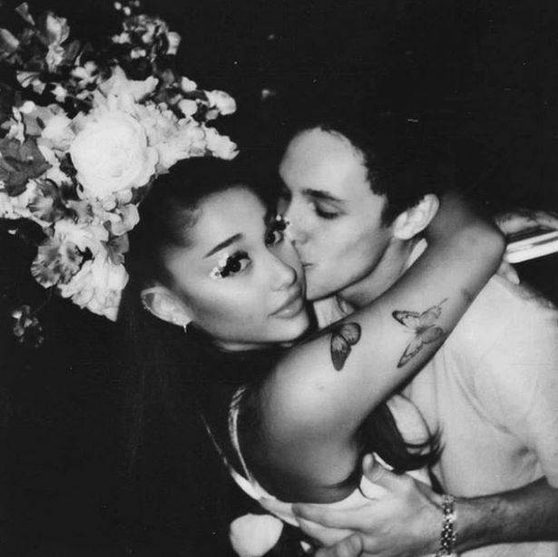 Ariana Grande secretly married Dalton Gomez