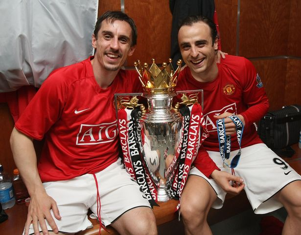Neville won eight Premier League titles despite arguably being not the most talented player