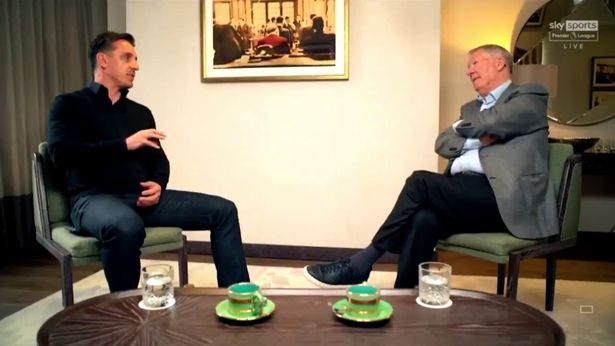 Neville and Ferguson discussed a number of topics in an inteview broadcast on Sky Sports