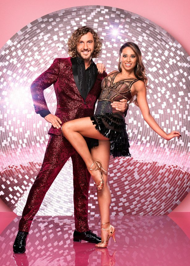 Seann Walsh and Katya Jones caused controversy with their antics away from Strictly dancefloor