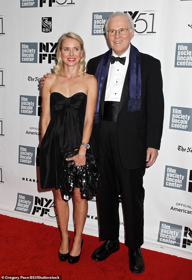 With a friend: Charles with actress Naomi Watts at the Captain Phillips film premiere in New York in 2013