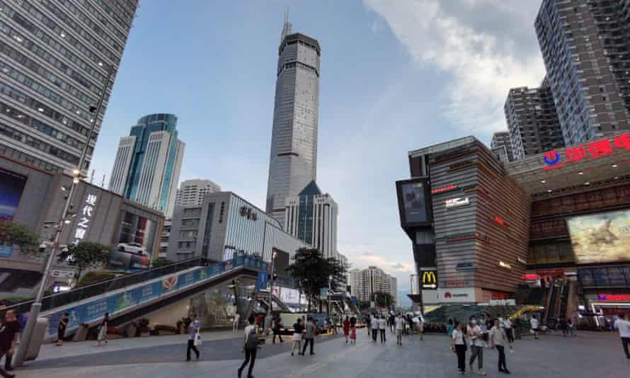 The 300-metre-tall SEG Plaza