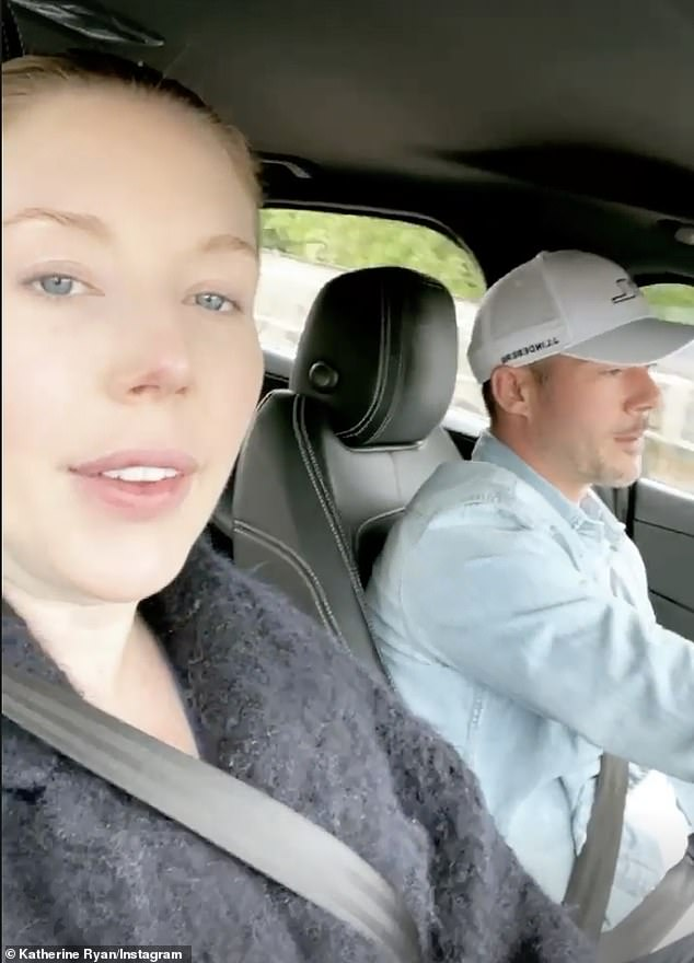 Flawless: The comedian sported a very smooth complexion in the selfie and the following day shared her adventures in Devon with husband Bobby for her followers