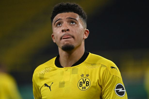 Jadon Sancho is expected to leave Borussia Dortmund for Manchester United this summer