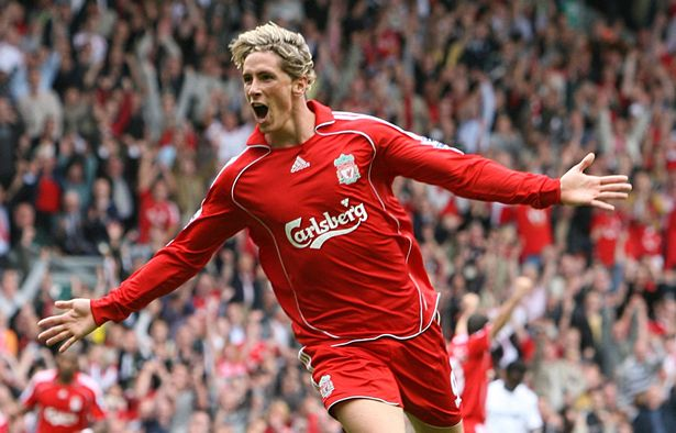 Fernando Torres was the fastest player to reach 50 goals for Liverpool