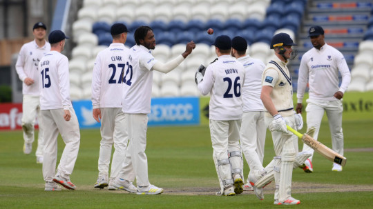 Archer felt pain in his elbow during Sussex's recent draw with Kent