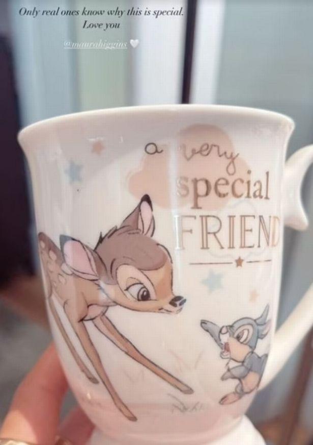 Molly-Mae received a Disney mug from Maura