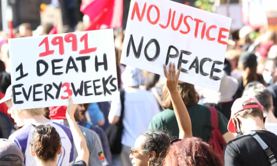 Deaths in custody protesters