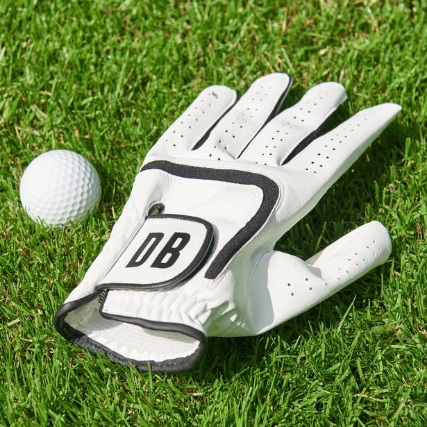 Personalised Men's Golf Glove