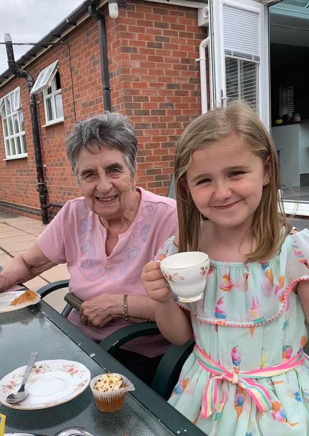 Janet Gibbs with granddaughter Olivia