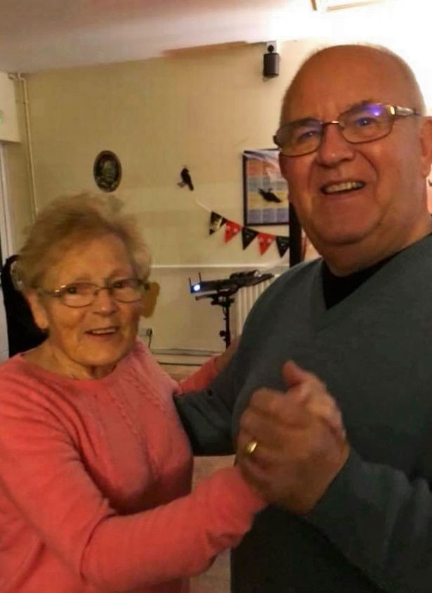 Janet Faulks, left, died from Covid-19 in a Leicestershire care home on May 8, 2020, aged 75
