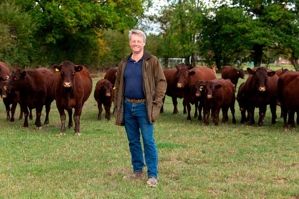 Farmer David wants the government to think carefully ahead of agreeing any trade deal