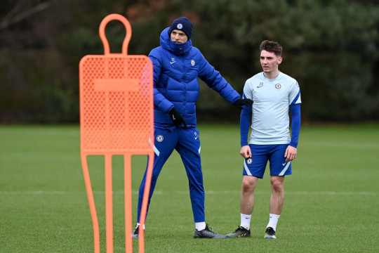Gilmour has had to be patient with regards to playing time under Tuchel