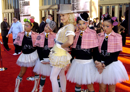 Gwen Stefani and the American Music Awards.