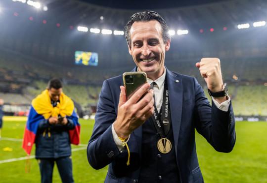 Former Arsenal boss Unai Emery guided Villarreal to Europa League glory