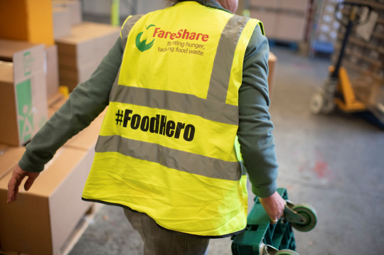 Help Fareshare in their heroic work by donating a pack of Actimel to projects in your community