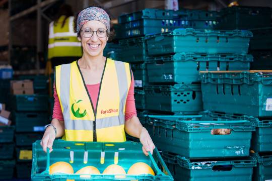 """""""FareShare has more than doubled the amount of food we distribute in response to the Covid-19 crisis,"""