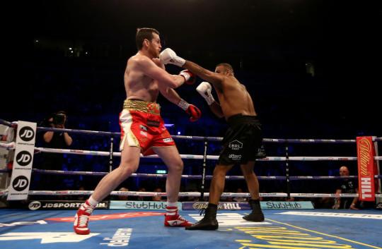 Boxing at M&S Bank Arena
