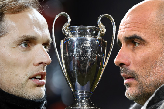 Thomas Tuchel meets Pep Guardiola in the 2021 Champions League final
