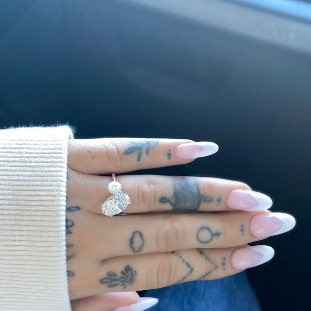 Ariana and her partner Dalton got engaged in December 2020