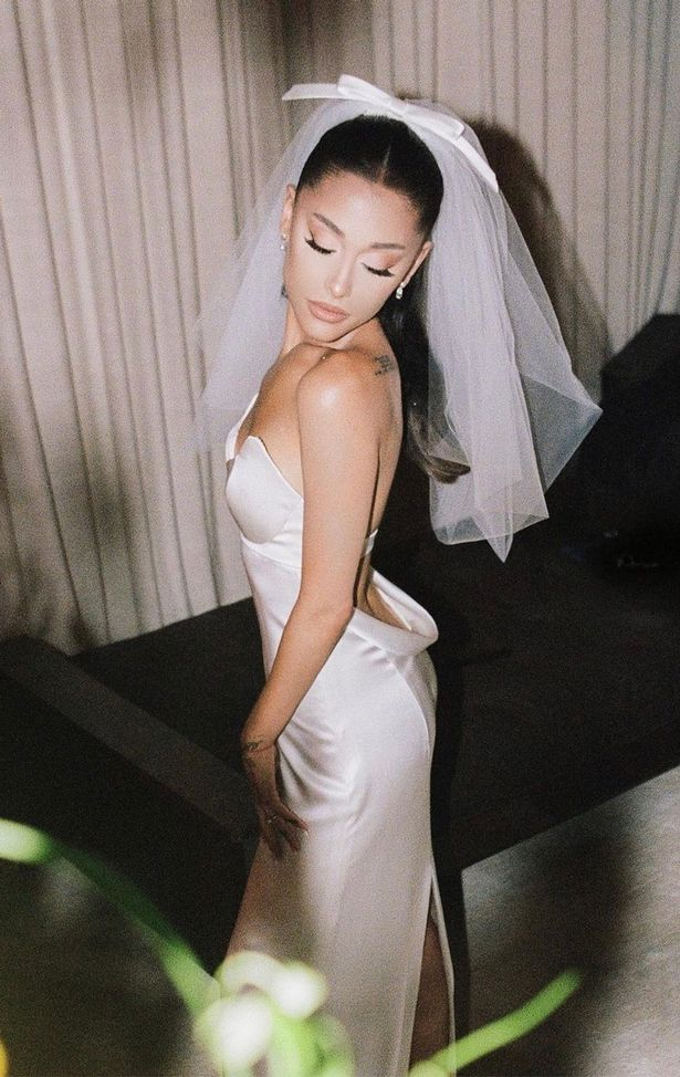 Ariana recently unveiled several snaps taken during her big day