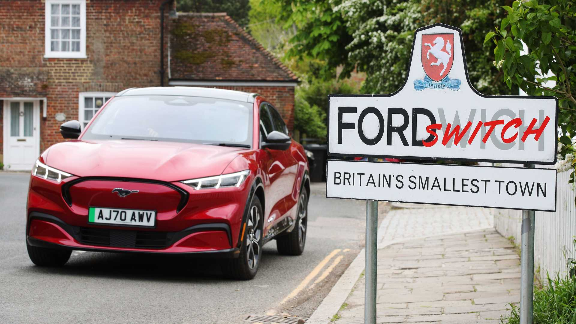 Ford Proposes To Convert UK's Smallest City To EVs With The Mach-E
