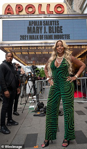 Getting her start:As she noted in her speech, the nine-time Grammy Award winner launched her career at the historic venue while singing backup for Redd. Redd connected her to the Uptown Records CEO Andre Harrell, who signed her to the label as a backup vocalist in 1989