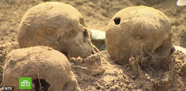 The remains of 500 victims have been found, many showing gunshot wounds and evidence of torture. Other inmates are believed to have died from malnutrition and disease