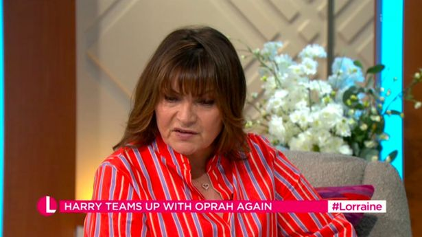 """Lorraine confessed it was """"sad"""" what he was commenting about the Royal family"""