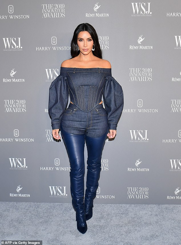 Safety measures: The judge ordered Zelenoff to stay 100 yards away from Kardashian at all times;2019