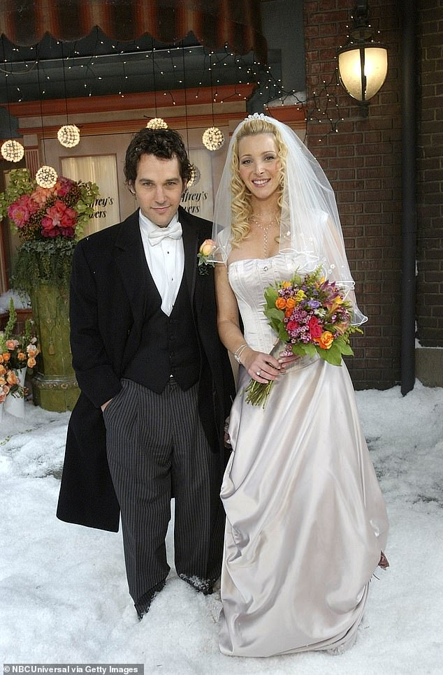 Rudd played the husband oPhoebe's eventual husband Mike Hannigan