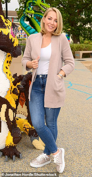 Mythical creatures: Laura Hamilton, 39, was also seen at the VIP event, exuding effortless chic in her choice of outfit