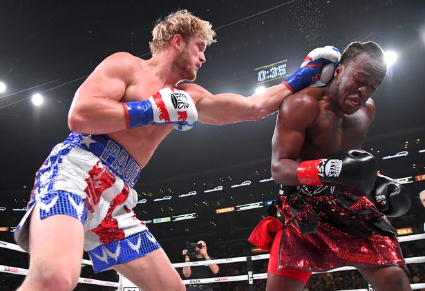 Logan Paul fought KSI twice, drawing the first and losing the second