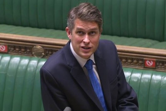 Handout screengrab from Parliament TV of Education Secretary Gavin Williamson responds to questions in the House of Commons, London, following his statement on the state of exams and education. PA Photo. Picture date: Thursday February 25, 2021. See PA story HEALTH Coronavirus. Photo credit should read: House of Commons/PA Wire