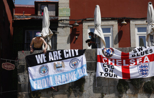 champions League Fans in Porto ahead of the Champions League Final