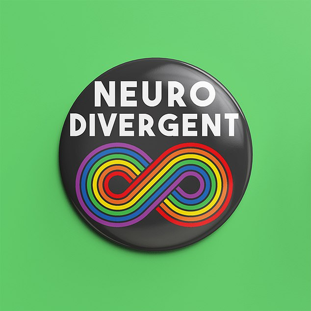 You can actually buy badges online that say ¿neurodiverse squad¿ or similar, and there¿s even a symbol ¿ it looks like a sideways figure eight
