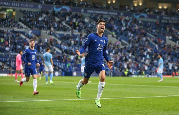 Kai Havertz scored the winning goal for Chelsea in the Champions League final