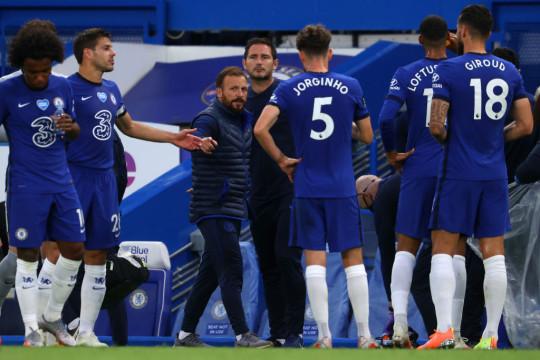 Jody Morris and Frank Lampard left Chelsea in January