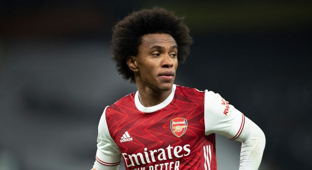 Willian's time in north London already looks to be running out