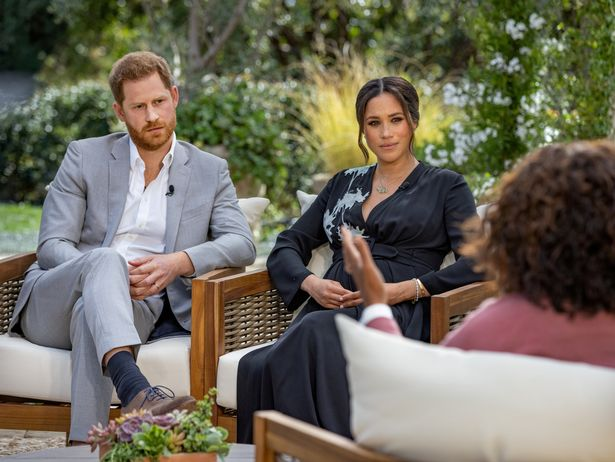 Piers refused to apologise over comments he made about Meghan's Oprah interview
