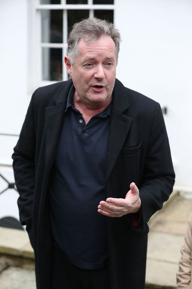 Piers hasn't ruled out a return to GMB
