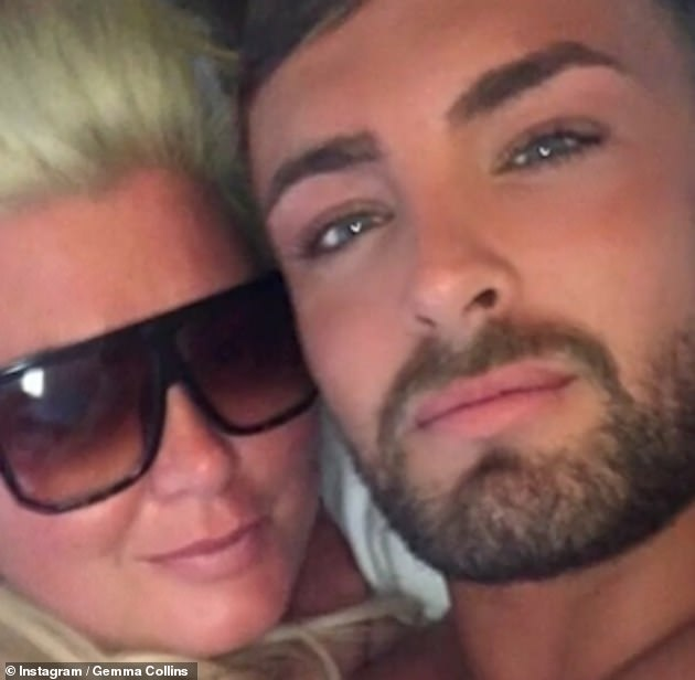 Heartbreaking: It comes after a difficult time for the TOWIE personality, whose friend Rhys Alan Smith was found dead in Tenerife last month