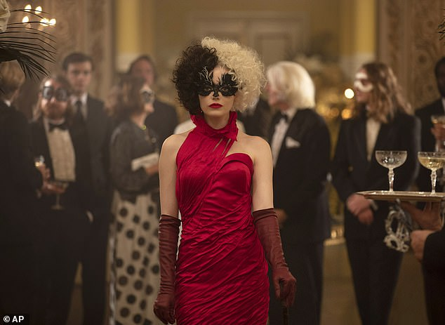 Not its best: Cruella earned $27 million, which is respectable for the pandemic but otherwise disappointing for a Disney film with an Oscar winner like Emma Stone