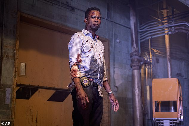 Gory: Chris Rock takes a rare dramatic role in the third place film, the Saw sequel Spiral, which earned $2.1 million for a $20 million total