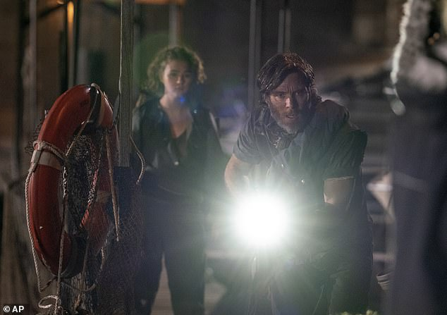 In theaters for now:The movie has a 45-day theatrical window, after which point it will also be available to stream at no extra charge for Paramount+ subscribers (formerly CBS All Access); still from A Quiet Place Part II