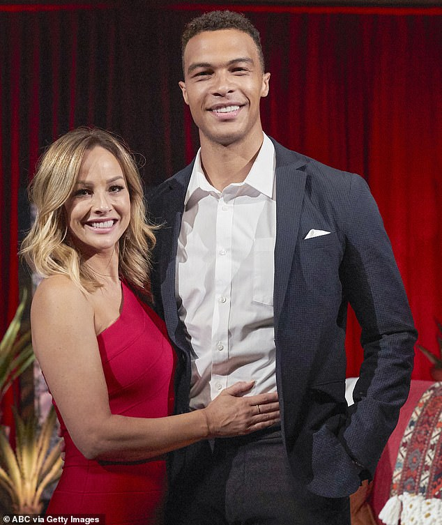 High-profile couple: Crawley and Moss met during the 16th season of The Bachelorette and shocked viewers when they became engaged and left the program early